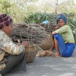 Burmese Women Resting Load