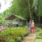 Nancy H. and Janeke at entrance to Kadavul Temple