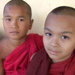 Young Burmese Monks