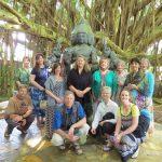 Group with Shiva and Banyon Tree at Kadavul Temple