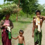 Burmese Country Family