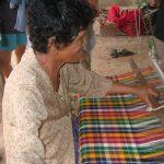Village silk weaver